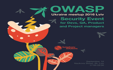 Buy tickets to OWASP Ukraine Meetup 2016 Lviv: