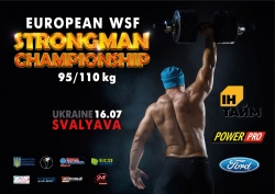 Buy tickets to WSF European STRONGMAN CHAMPIONSHIP 95/110kg: