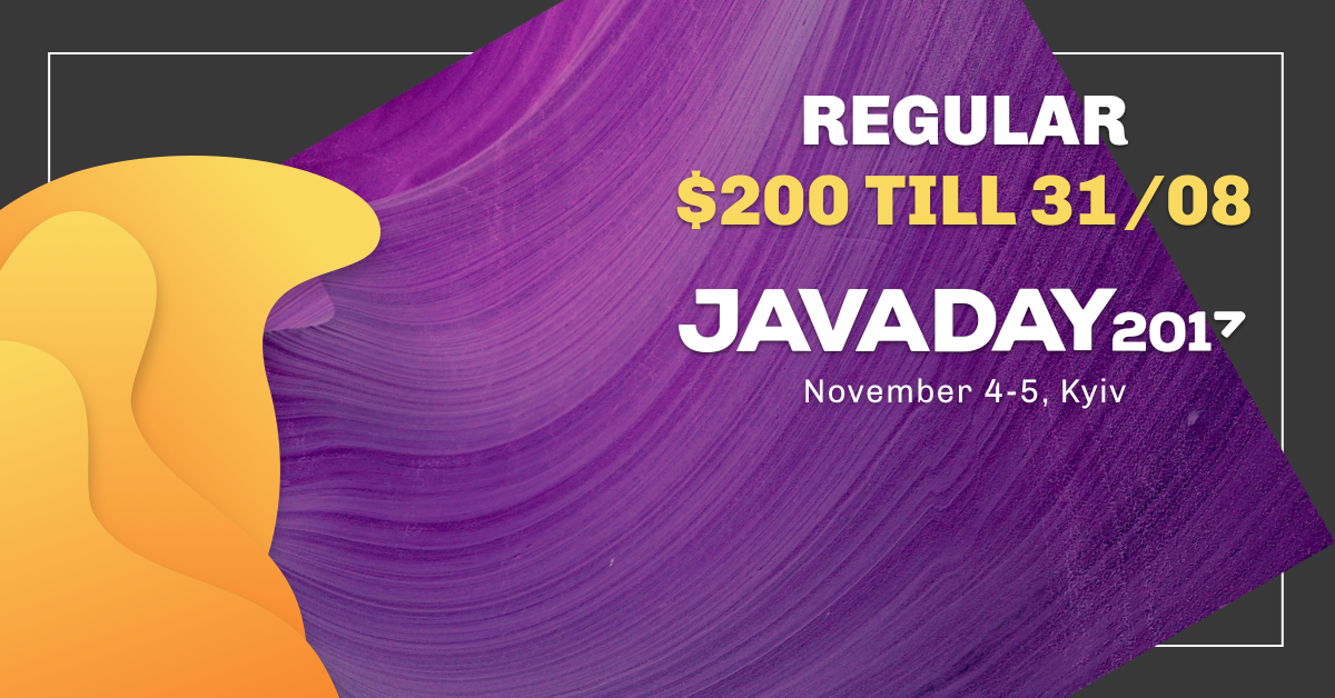 Buy tickets to Javaday 2017: