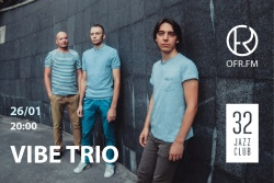 Придбати квитки на VIBE TRIO: