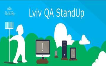 Придбати квитки на Lviv QA StandUp February: