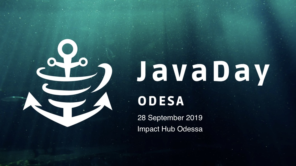 JavaDay Odesa