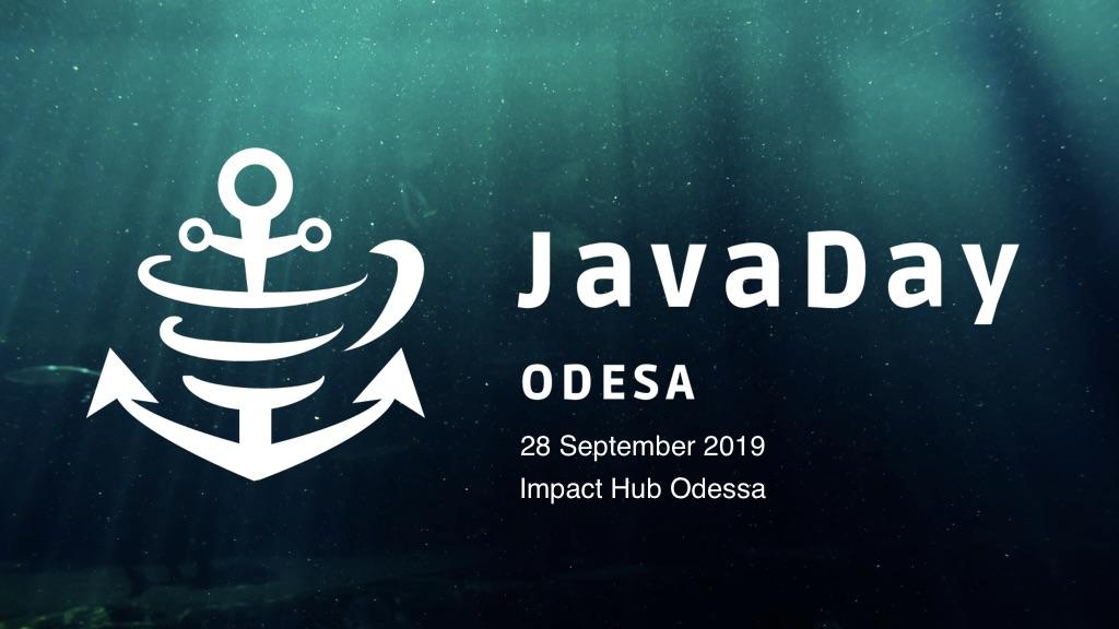 JavaDay Odesa