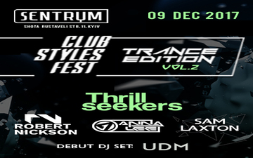 Buy tickets to Club Styles Fest. Trance Edition. vol. 2:
