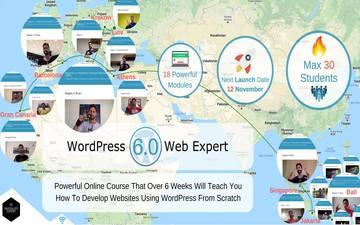 Kupić bilety na WordPress Web Expert 6.0 - Потужний Курс По Розробці Сайтів: