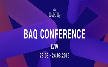 Kupić bilety na BAQ Conference March_2019: