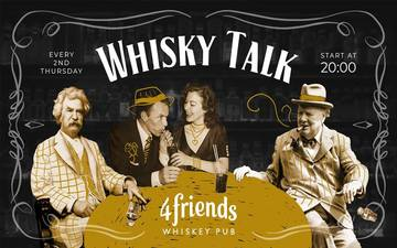 Придбати квитки на Whisky Talk | April 11th:
