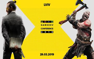 Buy tickets to Lviv GameDev Conference 2019: