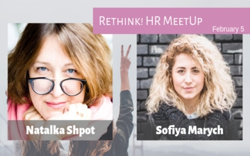 Buy tickets to Rethink! HR meetup: