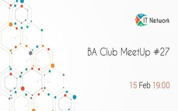 Купить билеты на BA Club MeetUp #27:
