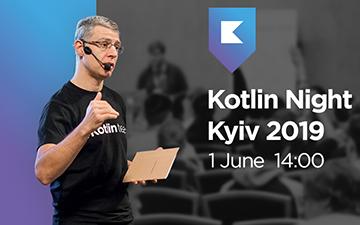 Kupić bilety na Kotlin Night Kyiv 2019: