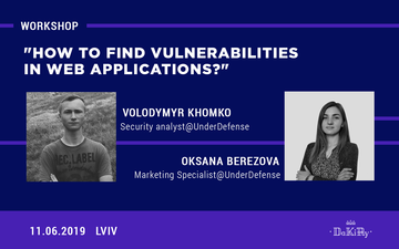 "Kupić bilety na Воркшоп ""How to find vulnerabilities in web applications?"":"