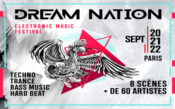Придбати квитки на 20-21-22 Sept 19 - DREAM NATION FESTIVAL – PARIS (Fr):