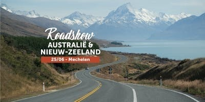 Buy tickets to Roadshow Australië & Nieuw-Zeeland in Mechelen: