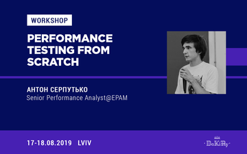 "Buy tickets to Workshop""Performance testing from scratch"":"