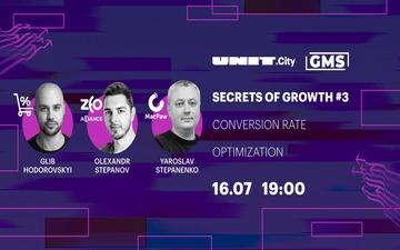 Придбати квитки на Secrets of Growth #3: Conversion Rate Optimization: