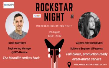 Придбати квитки на Rockstar Night: Microservices Driven Night: