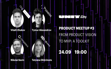 Kupić bilety na UNIT.Product Meetup #3 | From Product Vision to MVP: A Toolkit: