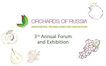 "Buy tickets to 3rd Annual Investment Forum & Exhibition ""Orchards of Russia 2020"":"