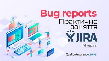 Buy tickets to Bug reports. Практичне заняття в Jira: