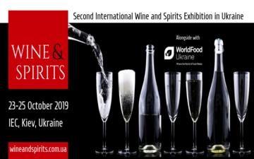 Buy tickets to Wine&Spirits Ukraine 2019: