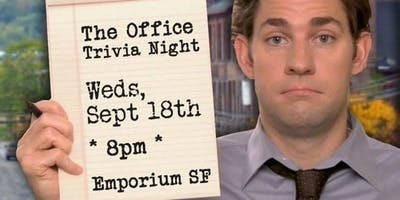 Придбати квитки на Trivia Night: The Office at Emporium SF:
