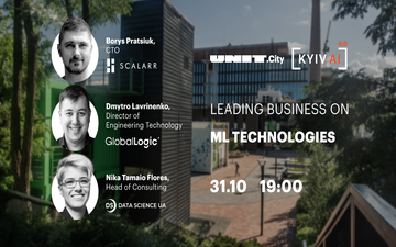 Придбати квитки на Kyiv AI 6.0: Leading business on ML technologies: