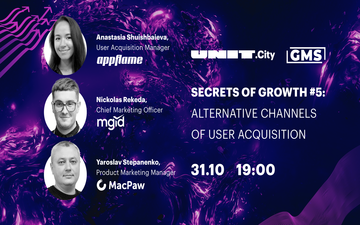 Kupić bilety na Secrets of Growth #5 | Alternative User Acquisition Сhannels: