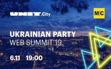 Buy tickets to Ukrainian Party Web Summit 2019: