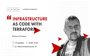 Buy tickets to Infrastructure as code with Terraform: