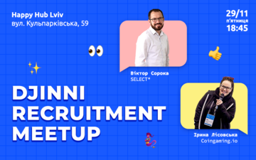 Buy tickets to Djinni Recruitment Meetup: