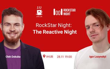 Придбати квитки на RockStar Night: The Reactive Night: