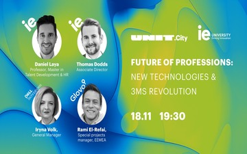 Купить билеты на UNIT.Talk | Future of professions: new technologies & 3Ms revolution: