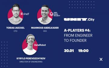 Buy tickets to A-Players #4: From Engineer to Founder: