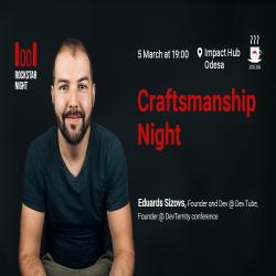 Buy tickets to RockStar Night Odesa: Craftsmanship Night: