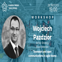 Buy tickets to Workshop with Wojciech Pazdzior: Teamwork and open communications in agile teams: