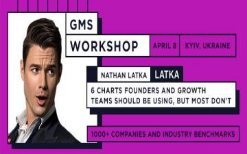 Buy tickets to 6 Charts Founders and Growth Teams Should Be Using, But Most Don't. Workshop by Nathan Latka: