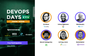 Kupić bilety na DevOps Days Kyiv: From Home: