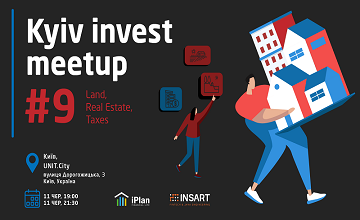 Buy tickets to Kyiv Invest Meetup #9: