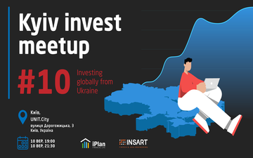 Buy tickets to Kyiv Invest Meetup #10 - Investing Globally From Ukraine: