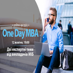 Buy tickets to One Day MBA: