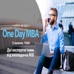 Kupić bilety na One Day MBA: