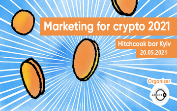 Buy tickets to Marketing for crypto: