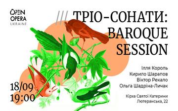Buy tickets to Тріо-сонати: Baroque Session: