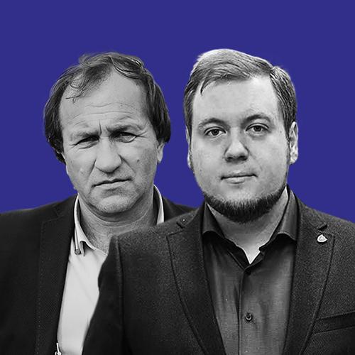 МАКСИМ ЄЛІСЕЄВ та МИХАЙЛО СЕРБІН